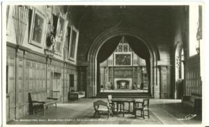 The Banqueting Hall, Bamburgh Castle, Northumberland