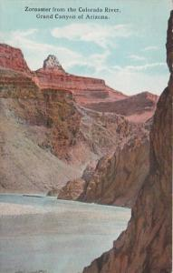 Arizona Grand Canyon Zoroaster From The Colorado River