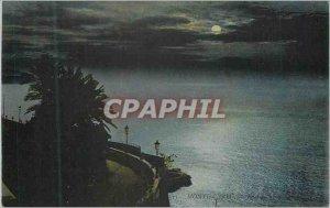 Old Postcard Monte Carlo Effect Sea