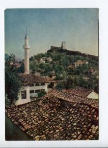 263298 ALBANIA Kruje Mosque 1958 year russian PRAVDA postcard