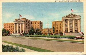 Indiana Indianapolis City Hospital Curteich