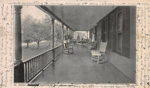 Dr. Brooks' Sanatorium, New Canaan, Connecticut, Early Postcard, Used in 1906
