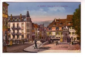 Tinted Cap, Downtown, Saverne, France