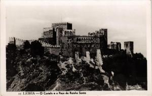 CPA Leiria- O Castelo e o Paco da Rainha Santa, PORTUGAL (760822)