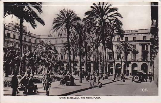 RP, The Royal Plaza, Barcelona, Spain, 1920-1940s