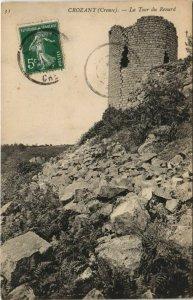 CPA CROZANT La Tour du Renard (1144501)