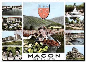 Modern Postcard Macon Saone and Loire