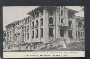 Sierra Leone Postcard - Law Courts, Freetown    T9470