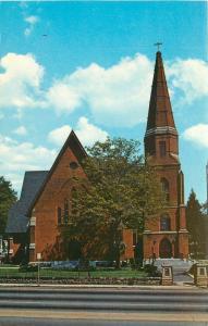Greenville South Carolina~Christ Episcopal Church~1970s Postcard