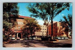 Grand Rapids MI, Blodgett Memorial Hospital, Chrome Michigan Postcard