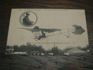 Aviation Postcard France French Airplane Trouville santos-dumont Clement-Bayard