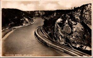 Bristol Avon Gorge UK RPPC Postcard