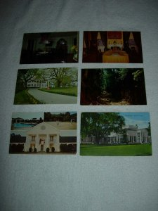 Natchez MS - Lot Of 6 Great Vintage Postcards - x0588