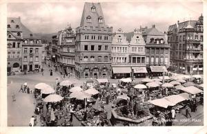 Germany Trier Hauptmarkt m rotem Haus  Trier Hauptmarkt m rotem Haus