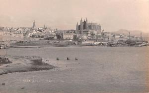 Spain Old Vintage Antique Post Card Water View Writing on back