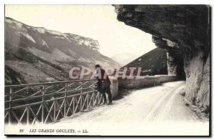 Old Postcard The Great Narrow