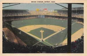 Bridge Stadium, Detroit, MI Baseball Stadiums, Base Ball Stadium, Postcard Po...