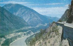 Canada, Jackass Mountain, Fraser Canyon, BC unused Postcard