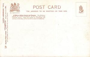 Raphael Tuck Native Arizonians U.S.A.  Mohave Indian Squaw Papoose Postcard