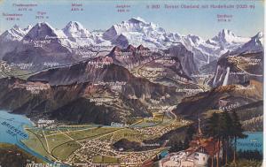 Switzerland Interlaken Totalansicht