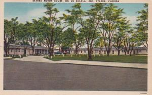 Florida Starke The Starke Motor Court 1950
