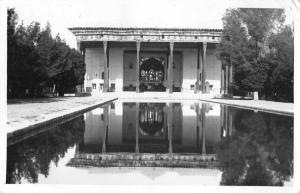 Isfahan Iran Chehel Sotoun Real Photo Vintage Postcard JE229343