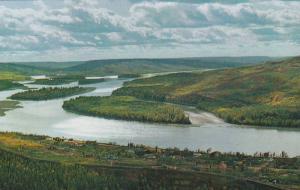 Peace River, Alberta, Canada, 40-60s