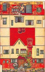 Raphael Tuck 3387 Model Cottage Card Number V Postcard