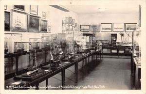 New York Hyde Park  Navel Exhibition Room, Franklin Roosevelt Memorial Librar...