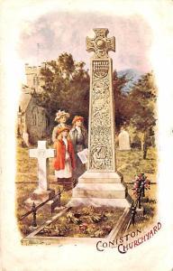 United Kingdom, Great Britain, England Coniston Churchyard  Coniston Churchyard