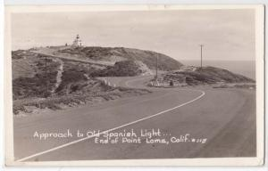 Old Spanish Lighthouse, Point Loma CA