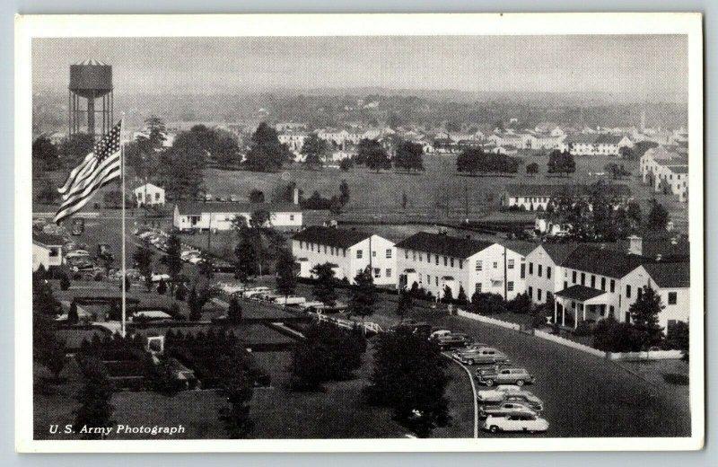 Postcard Post Headquarters Camp Kilmer New Jersey