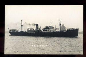 bf1189 - United Africa Co Cargo Ship - Liberian , built 1936 -postcard B Feilden