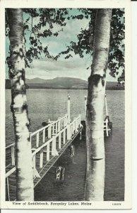 Rangeley Lakes, Maine, View of  Saddleback