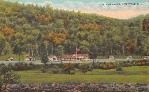 Intervale New Hampshire 1930-40s Postcard Castner Camps