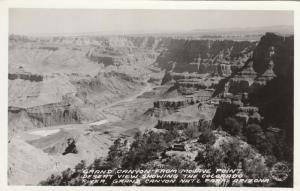 RP: GRAND CANYON NATIONAL PARK, Arizona,1920-40s; Desert View, Colorado River