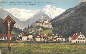 US3470 Sand in Taufers  Schloss Taufers Zillertalergletscher Austria