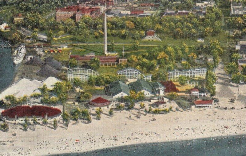 BENTON HARBOR , Michigan, 1944 ; Silver Beach Amusement Park