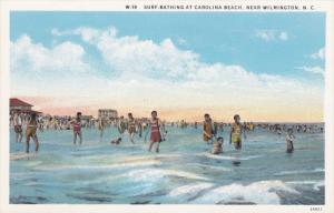 Surf Bathing at Carolina Beach near Wilmington, North Carolina, 30-40s