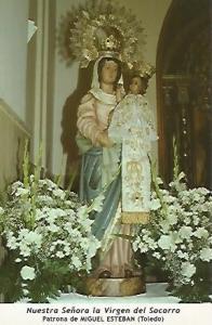 POSTAL 54630: Virgen del Socorro. Miguel Esteban Toledo