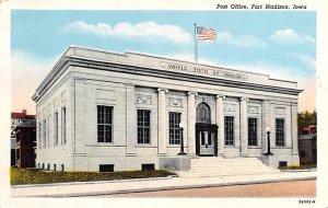 Post Office Fort Madison, Iowa, USA Unused