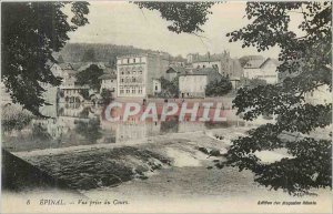 Old Postcard Epinal shooting course