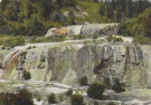Golden Fleece Terraces, Orakei Korako, New Zealand, 50-70s