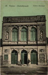 CPA VIENNE - CHATELLERAULT Theatre Municipal (255683)