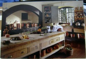 England Dunham Massey Cheshire The Kitchen - posted 2010