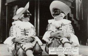 RP: STRATFORD, Ontario, 1963 ; Eric Christmas & Douglas Rain,  Comedy of Errors