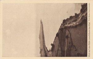 Zeppelin Postcard Germany Aerial View Gustav Eyb - View of Kiel Bülk Lighthouse