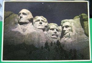 United States Mount Rushmore National Memorial South Dakota - posted 1985
