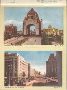 14 Postcards,  CIUDAD DE MEXICO, Mexico, 1930-40s