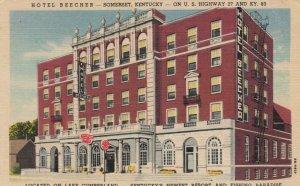 SOMERSET, Kentucky, 1930-40s; Hotel Beecher, U.S. Highway 27 and KY. 80